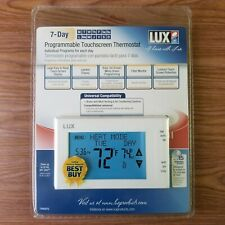 Lux TX9600TS 7-day Touch Screen Programmable Thermostat White