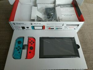 Nintendo Switch (HAC-001) 32GB Neon Red/Neon Blue Console