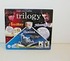 Magic Encyclopedia Trilogy Game (PC,CD ROM 2010) First Story Moonlight Illusions