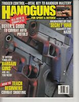 Handguns Magazine October 1991 - Bargain Guns, Teach Beginners Combat Shooting
