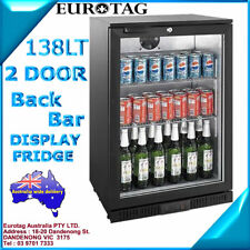 EUROTAG 138LT SINGLE DOOR UNDER BENCH BACK BAR DISPLAY FRIDGE 1 Years Warranty