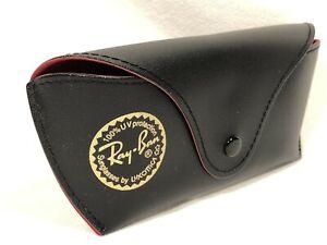 Ray Ban Aviator Sunglasses Eyeglasses Slim Red & Black Protective Eyeglass Case