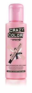 Crazy Color Semi-Permanent Conditioning Hair Dye Colour CANDY FLOSS #65
