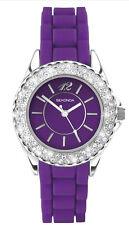 Nuevo Sekonda señoras púrpura Party Time de goma de correa de reloj de moda 4449.27 R £ 29.99