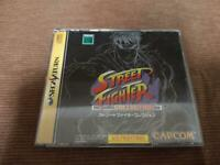 Street Fighter Collection Sega Saturn SS Capcom arcade Game Soft Japan