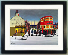 """JACK KAVANAGH """"GOING TO THE MATCH"""" BURTON ALBION FRAMED PRINT"""