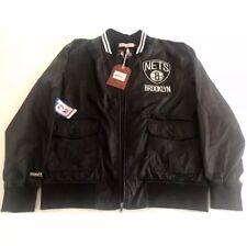 Mitchell and Ness NBA Brooklyn Nets Play Caller Woven Jacket – Men's XL