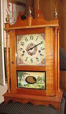 Vintage Hand Made Westminster Chime Quarter Hour Clock