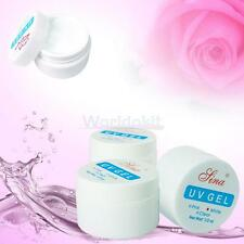 3 Colors Nail Art Primer Base UV Gel Top Coat Builder Tips Kit Clear/White /Pink