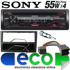 VAUXHALL MERIVA A 2002-05 Sony CD MP3 USB AUX IN Radio Stereo Auto Nero Trim