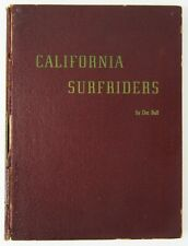 Vintage Surfing Classic California Surfriders by Doc Ball 1st Edition 1946 Rare