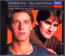 Joshua BELL & Olli MUSTONEN: PROKOFIEV Violin Sonata 1 2 5 Melodies CD Prokofjew