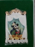 Walt Disney Collection WDCC Magician Mickey On With The Show Xmas Ornament 1997