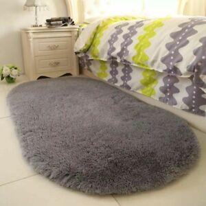 Fluffy Rugs Anti-Skid Shaggy Area Room Carpet Floor Mat Home Bedroom Supplies
