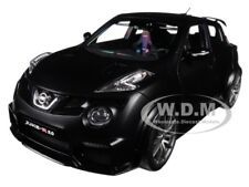 NISSAN JUKE R 2.0 MATT BLACK 1/18 MODEL CAR BY AUTOART 77458