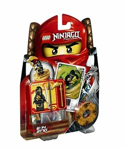 Lego Ninjago Cole DX Spinner Set 2170 Weapons Cards Retired  new