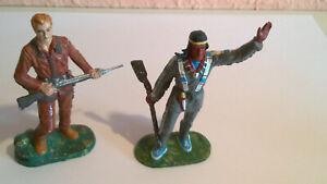 Preiser  Elastolin 7 cm Karl May Figuren Winnetou und Old Shatterhand