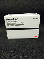 3M 7445/07445 Scotch-Brite Light Cleansing Hand Pad (10 pads)