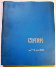 Clark Model I-252-8 Forklift Lift Trucks Dealer Parts Catalog