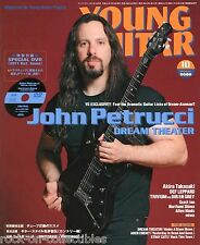 Young Guitar Magazine October 2011 Japan Dream Theater MSG Loudness