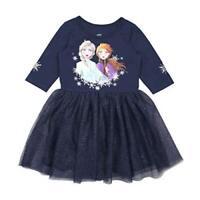 FROZEN 2 Cream Colored CAPE DRESS Anna~Elsa Sparkly Snowflakes NWT