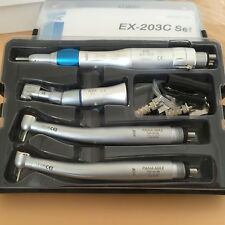 DENTAL NEW type PANA-MAX Wrench Style High Speed Handpiece EX203C KIT 4 Holes UK