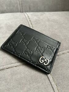 Gucci cardholder wallet pouch 100% authentic study all 12 photos careful 473927