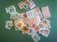 lot N°396 - gros lot timbres Écussons blasons