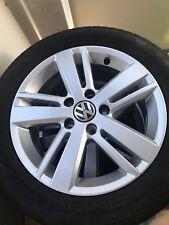 VW Touran VW Golf 5 VW Golf 6 Alufelge 5K0 601 0251 M Borbet Alufelgen 16 Zoll