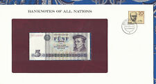 Banknotes of All Nations GDR East Germany 1975 5 Mark UNC P 27a IH008847 Low