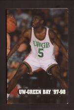 Wisconsin-Green Bay Phoenix--1997-98 Pocket Schedule---Oneida Casino