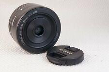 Canon EF-M 22mm F/2.0 STM Lens EXCELLENT CONDITION