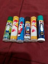 LOT OF 6 - AVON HOLIDAY KIDS FLAVORED LIP BALMS - SEALED - FREE SHIPPING