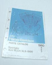 NOS  Harley 1979 1980 XLH, XLCH, XLS-1000 Sportster Parts Catalog Manual