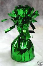 Balloon Weights GREEN Foil birthday party favors 6.2 oz