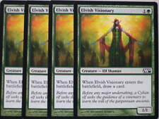 XXX 4x ELVISH VISIONARY englisch magic 2010 M10 (elf shaman green) NM/MINT