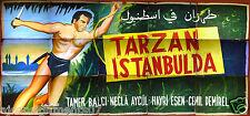 15sht Tarzan Istanbul Istanbulda Tamer Balci Hand Painted Arabic Billboard 50s