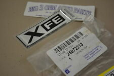 "Pontiac G5 Chevrolet Silverado GMC Cadillac Chrome ""XFE"" Emblem new OEM 25972313"