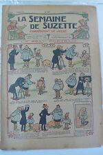 LA SEMAINE DE SUZETTE  5ème ANNEE  1909  -  N° 37