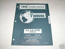 OMC Cobra 5.0 - 5.8 Liter Stern Drives Parts Catalog 96