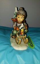 Goebel MJ Hummel Signature Ride Into Christmas Figurine 1971 396  W. Germany