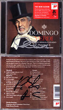 Placido DOMINGO & HERAS-CASADO Signed VERDI Macbeth Rigoletto Boccanegra Ernani
