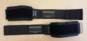 HARBINGER 6mm Neoprene Cuff Weight Lifting Wrist Supports Stabilizers HUMANIX