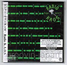 Sealed ROGER WATERS Radio K.A.O.S PINK FLOYD JAPAN Mini-LP CD MHCP692 w/OBI