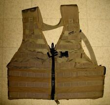 FIGHTING LOAD CARRIER VEST MILITARY MOLLE II COYOTE BROWN EXCELLENT