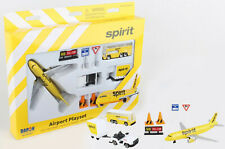 Spirit Airlines Playset Airbus A-319 - Passenger Bus - Ramp vehicles - Signs
