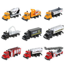 1:64 Scale Die-cast Alloy Pull Back Vehicle Engineering Truck Toy for Kids