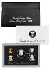 1998 United States US Mint 5pc Silver Proof Set SKU1459