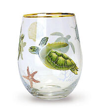 Hawaiian Islands Glassware Drinkware Wine Drink Glass Home Bar Kitchen Decor New