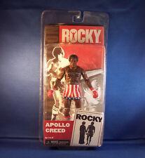 Rocky Series 1 Apollo Creed Pre-Fight Action Figure By NECA - Rare